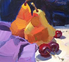 Discover fast, loose and bold brushwork techniques for painting in acrylic! #acrylic #paintingtechniques