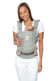 afcf4968031 How to Put on an Ergo Baby Carrier  Ergobaby OMNI 360 - The Baby In