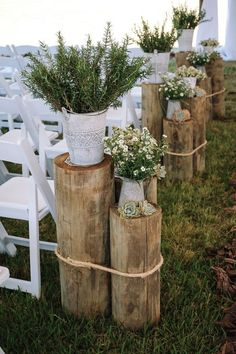 A Rustic Hangar Wedding Rustic Ceremony Wedding Decor - Farm-Forest Weddin. A Rustic Hangar Wedding Rustic Ceremony Wedding Decor – Farm-Forest Wedding – The Overwhe Wedding Bride, Wedding Blog, Wedding Planner, Dream Wedding, Wedding Rustic, Wedding Photos, Wedding Ideas, Gown Wedding, Wedding Cakes