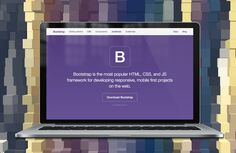 Bootstrap — A sleek, intuitive, and powerful mobile first front-end framework for faster and easier web development