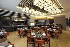 A completed specialty restaurant for Sheraton