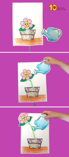 Straw and paper craft for preschoolers #straws#craftsforkids#preschool#printable