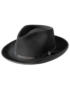 Stetson Stratoliner Black Dress Hat