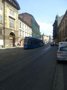 Krakow, Polska tram