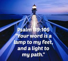 You're word is a lamp