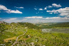 View from the village of Grazalema | Cadiz Province, Andalusia, Spain. | #stockphotos #gettyimages #print #travel