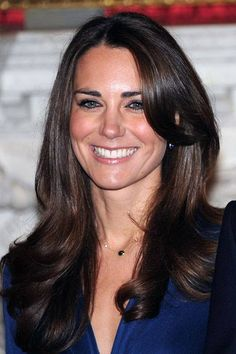 Duchess Kate's best ever hairstyles - Beaming with happiness, Kate Middleton announces her engagement with Prince William wearing the iconic Chelsea Blow Dry that will earn her the title of 'Most Envied Hair'