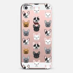 Frenchies - iPhone SE case by Pet Friendly | @casetify