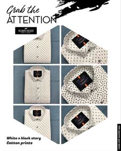 Casual Wear, Casual Shirts, Prints, Cotton, How To Wear, Men, Accessories, Black, Fashion