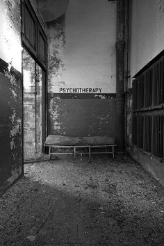Psychotherapy / Black & White Photography