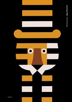 Tom Eckersley: Poster (With thanks to the Estate of Tom Eckersley / University of the Arts London / Archives & Special Collections Centre.)