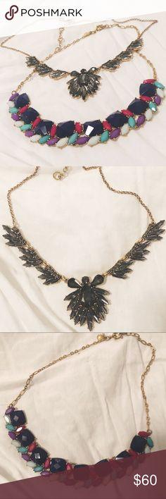 J. Crew Statement Necklace Bundle 2 statement necklaces in excellent condition! J. Crew Jewelry Necklaces