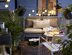 """8 trucos para crear y decorar """"tu pequeña terraza de verano"""""""