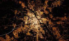 Zobacz zdjęcie Warszawy widzianej z orbity