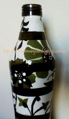 Art & Casa: PAP da garrafa de vidro.