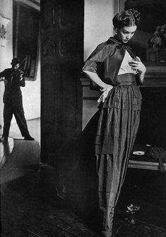 Jean Patchett & Irving Penn, Award Winning Photography in Lima, Peru, Vogue 1949