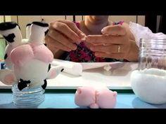 Montagem de relógio biscuit passo a passo - YouTube