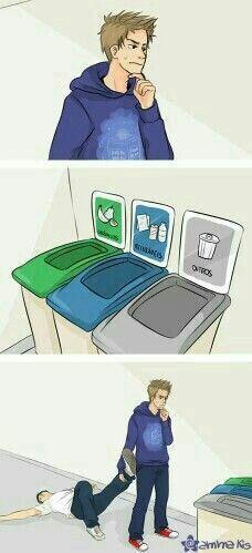 Alan...o lixo