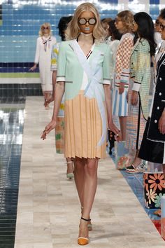 Thom Browne Spring 2017 Ready-to-Wear Fashion Show - Nastya Kusakina