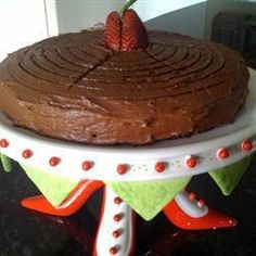 Bolo vegan de chocolate @ allrecipes.com.br