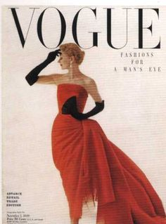Lisa Fonssagrives by Irving Penn, Vogue November 1, 1949