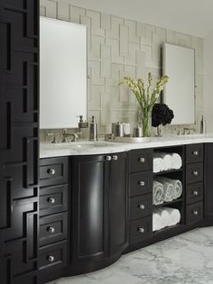 13 Bathrooms with Stylish Storage Solutions