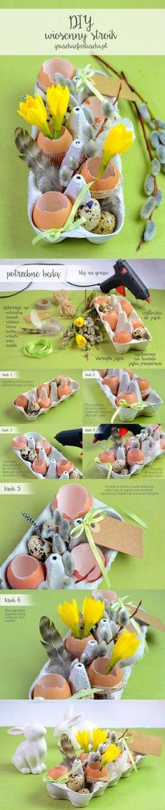 #TescoParty #Wielkanoc #Easter - dekoracja - decoration - stroik