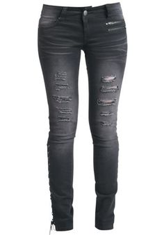 Corded Jeans by Rock Rebel by EMP