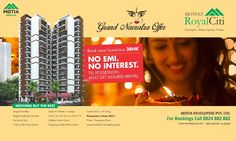 Grand Navratra Offer #MotiazRoyalCiti