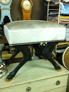Horse Leg Stool by zadaisstudio on Etsy