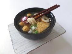 미니어쳐 오뎅 토핑으로 우동 만들기/miniature oden udon / ミニチュア おでん うどん - YouTube