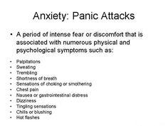 ANXIETY/PANIC ATTACKS   Neuroenergetic Kinesiology