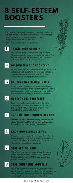 Practical tips to build self-esteem and overcome self-doubt #selfdoubt #selfesteem #selfconfidence #infographic