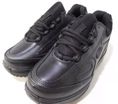 71631b8798b1 SFC Shoes for Crews Energy Black Women s Shoes US 7 Leather Upper Black NEW   ShoesForCrews  workshoes