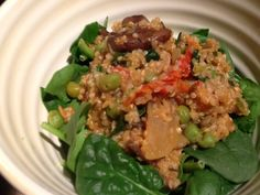 Mushroom Quinoa-sotto (Gluten Free, Dairy Free)