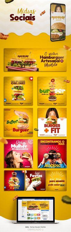 Design flat layout 55 Ideas for 2019 Web Design, Food Graphic Design, Food Poster Design, Graphic Design Trends, Social Media Bar, Social Media Design, Social Media Content, Desing Inspiration, Instagram Design