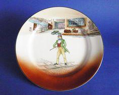 Royal Doulton 'Dick Swiveller' Dickens Ware Series 'A' Large Rack Plate D2973 c1928