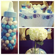 Baby boy shower ideas for dora...game, guess the gumballs
