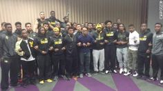 AFRICAN AMERICAN REPORTS: Black Missouri football players to boycott until president Tim Wolfe resigns
