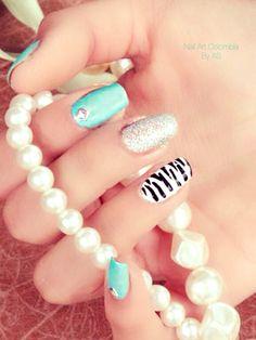 Elegantes Nail Art, Nails, Beauty, Jewelry, Fingernail Designs, Colombia, Elegant, Finger Nails, Beleza