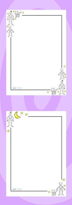 Free Printable Stationery for Children - Mr Printables Envelopes~n - printable writing paper with border