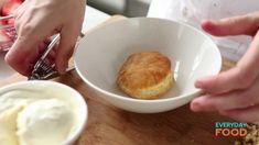 Strawberry Sundae Puff with Chocolate Sauce | Everyday Food with Sarah C...