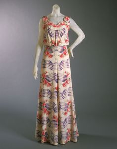 Schiaparelli Philadelphia Museum of Art - Collections Object : Woman's Dress