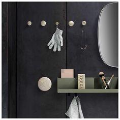 Buy Muuto The Dots Metal Online. Select From Our Huge, Scandinavian, Modern, Muuto Range. Metal Shelves, Wall Shelves, The Dot, The Cool Republic, Décor Boho, Deco Design, Design Shop, Coat Hooks, Scandinavian Design