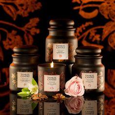 La Gold Collection de Yankee Candle inspirée des tendances de la haute parfumerie et de la mode est enfin là :D