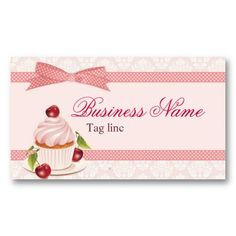 Color theme for pets surrounded by a caketro homemade cake sweet cupcake business card template reheart Choice Image