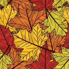 Autumn Pattern Autumn related seamless pattern Files: EPS, AI and high resolution JPG Created: GraphicsFilesIncluded: JPGImage Layered: No MinimumAdobeCSVersion: CS Tags: abstract Stained Glass Flowers, Stained Glass Patterns, Stained Glass Art, Mosaic Crafts, Mosaic Art, Hand Painted Sarees, Patterns In Nature, Nature Pattern, Glass Painting Designs