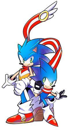 Sonic Bros by Drawloverlala.deviantart.com on @DeviantArt
