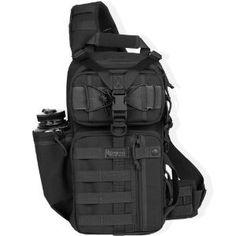 Used by All-Stars winner Maxpedition Sitka Gearslinger Shoulder Sling Tactical Messenger Gear Bag. Tactical Survival, Survival Gear, Survival Prepping, Survival Backpack, Survival Stuff, Bug Out Gear, Get Home Bag, Tac Gear, Tactical Backpack