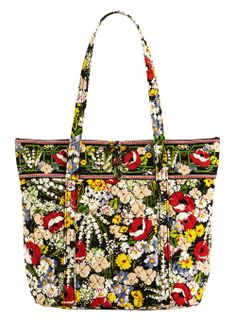 Mothers day gift for my Beautiful Mom Vera Bradley (poppy fields) with  matching wallet and key lanyard. ae3e99e6f58be